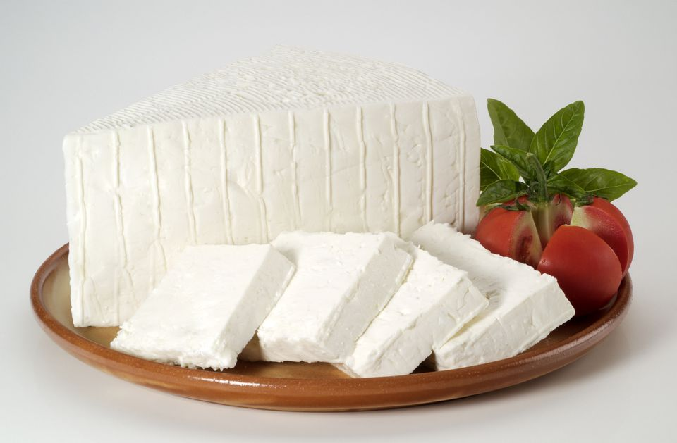 Feta cheese and tomatoes