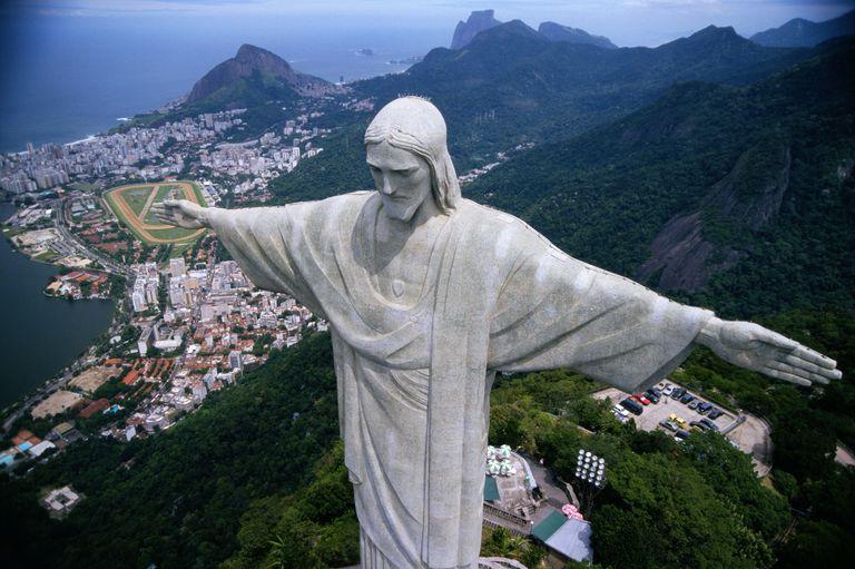 Statue of Christ the Redeemer, Rio de Janiero, Brazil