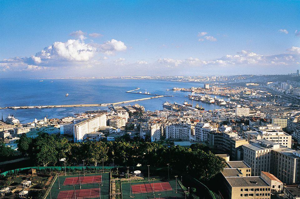 Algiers, Algeria's capital city, North Africa