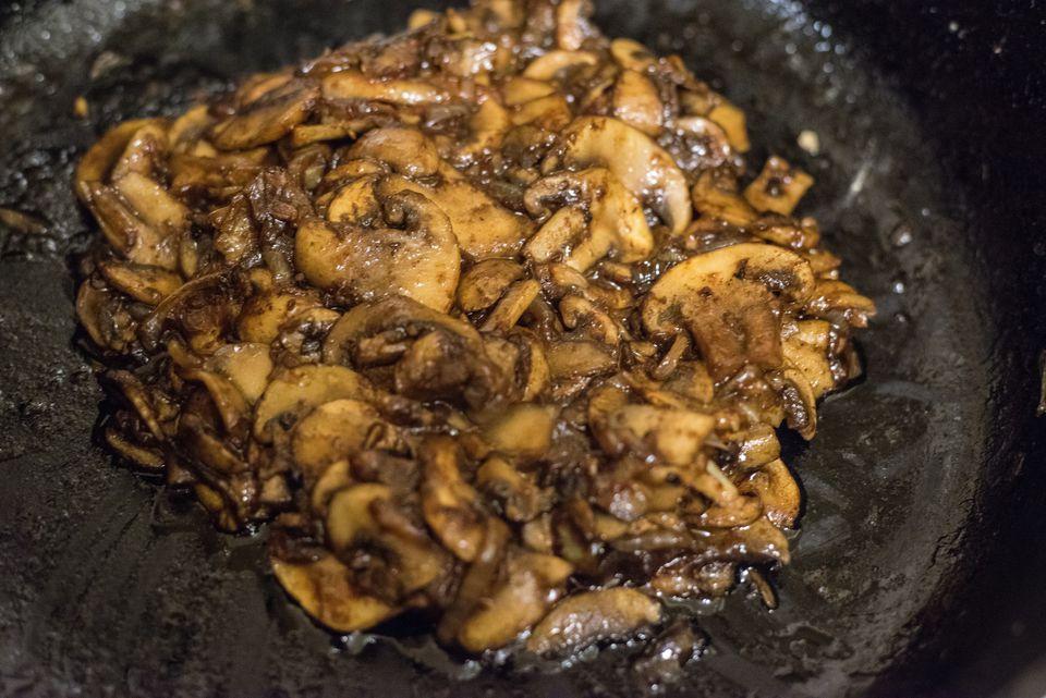 Mushrooms & Black Garlic Duxelles