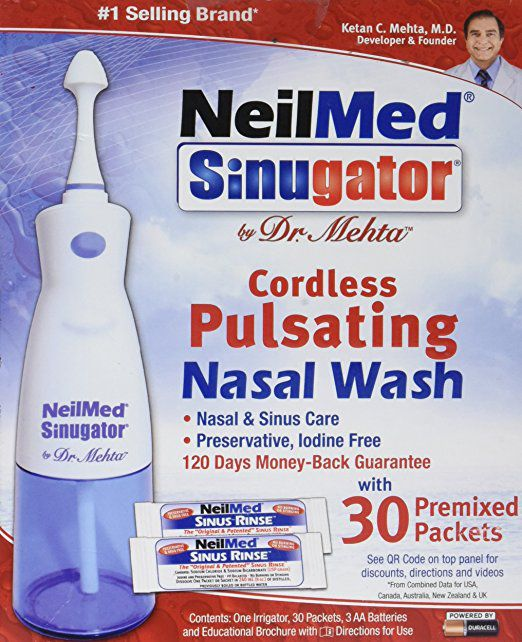 NeilMed Sinugator Review: Sinus Irrigation Device