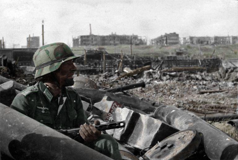 German soldier at Stalingrad