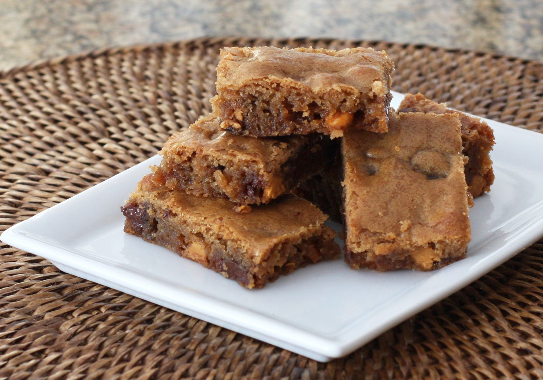 Chocolate Chip Butterscotch Blondies Recipe
