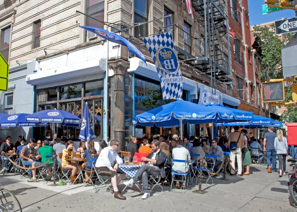8 Manhattan Beer Gardens Worth Raising A Glass To