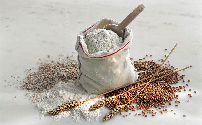 whole grain vs. refined grain flour