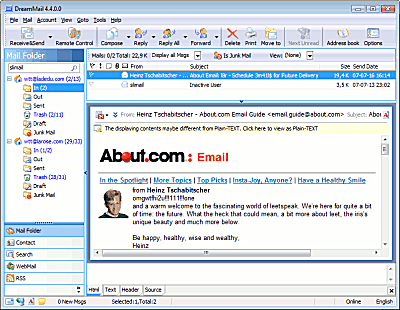 how to add email program to windows 7