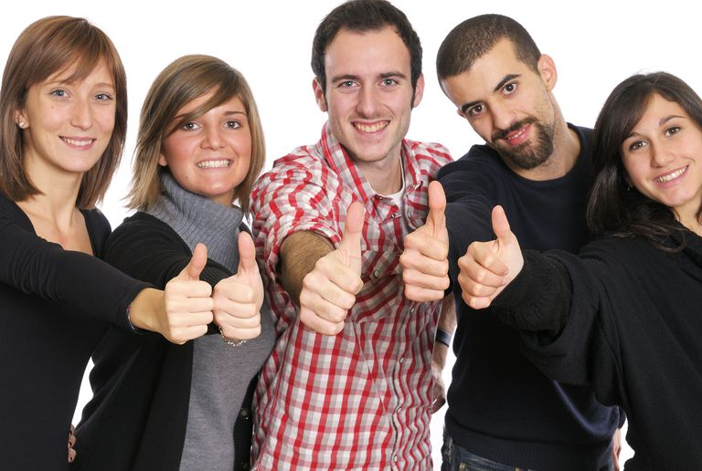 Employees indicate that they are finding their greatness by giving readers the thumbs up.