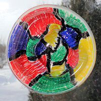 Stained Glass Ornament Craft