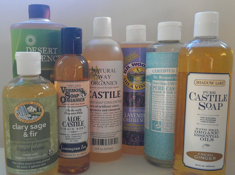 Eco-Friendly Castile Soaps