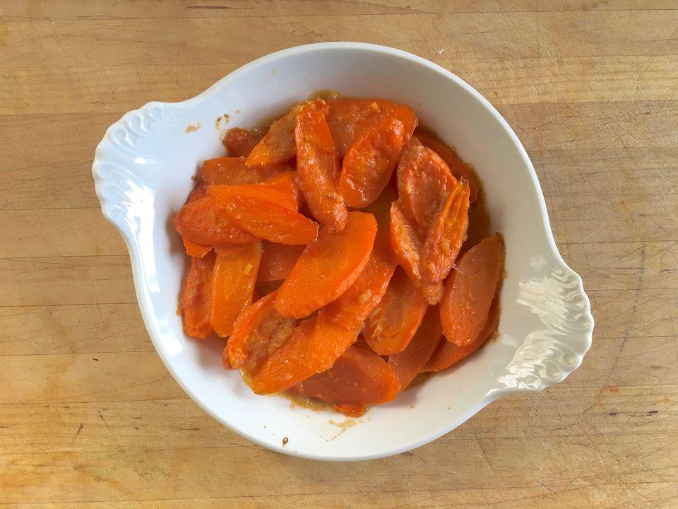 Carrot Ginger Casserole