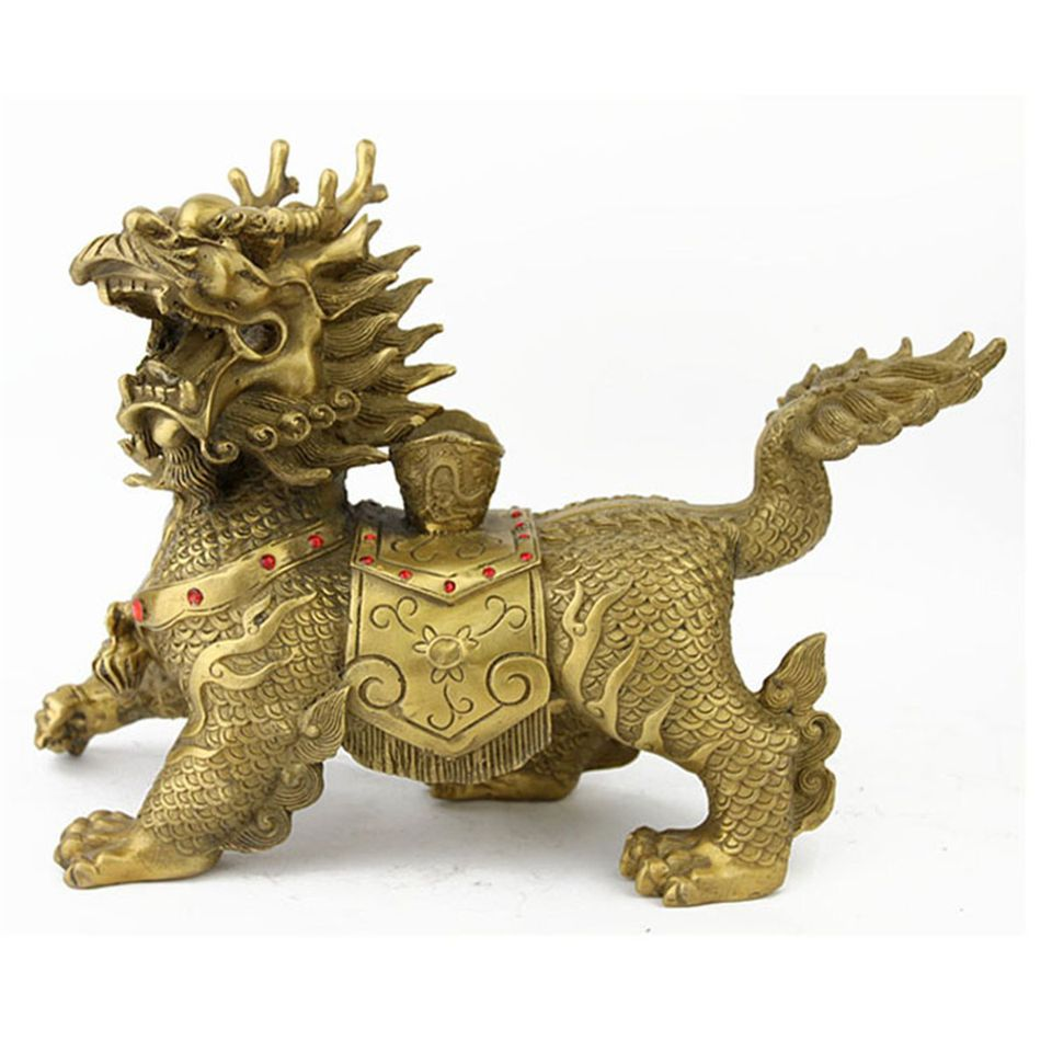 Traditional chinese feng shui cure protective chi lin chi lin the dragon horse is a classical feng shui protection cure biocorpaavc Images