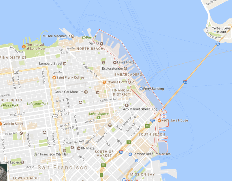 Insiders Guide to the Embarcadero