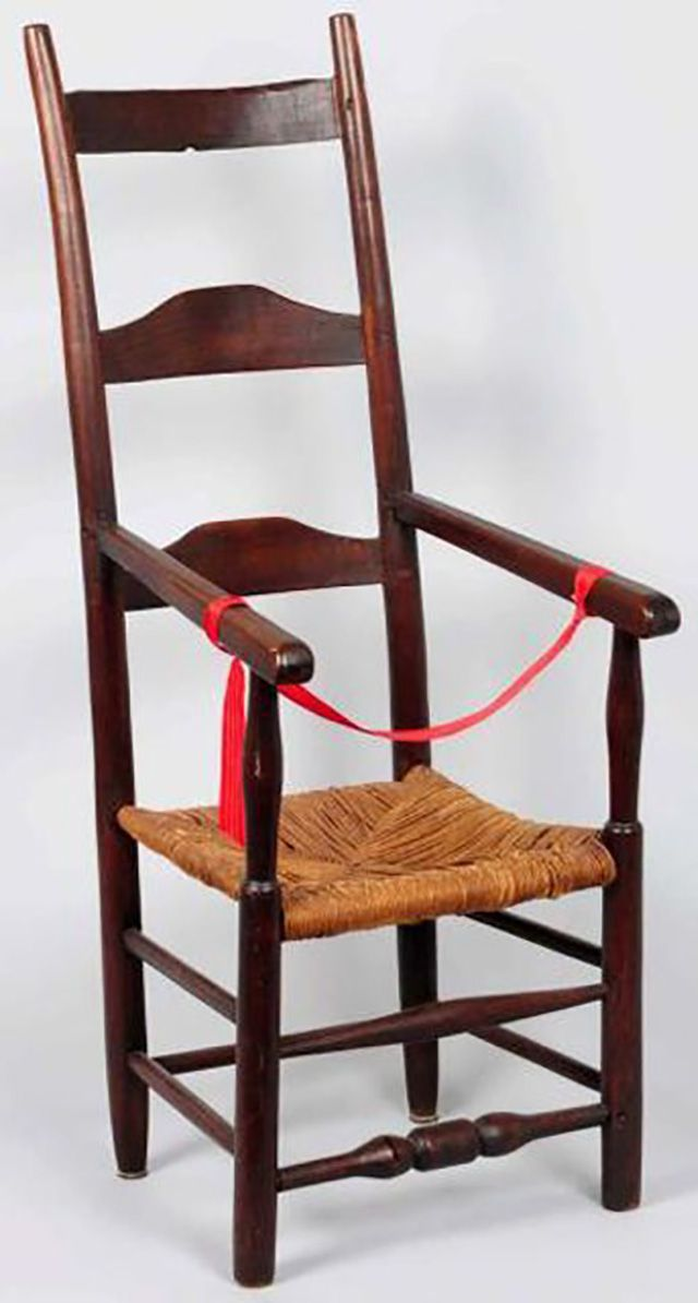 Ladder Back Side Chair Example