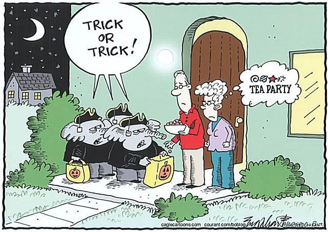 Tea Party Halloween