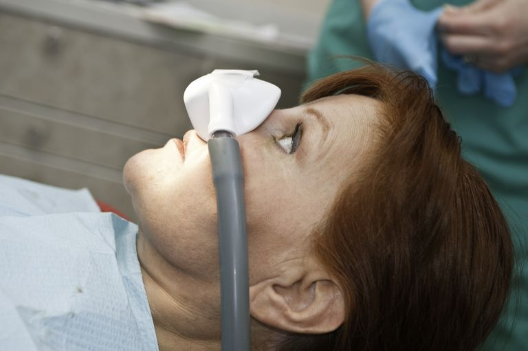 Nitrous Oxide Laughing Gas