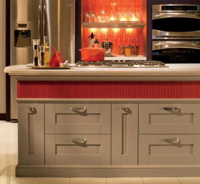 Orange Kitchen Backsplash Tile: 30 Amazing Design Ideas For A Kitchen Backsplash