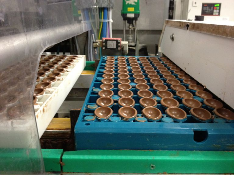 German hollow chocolate Easter egg production line
