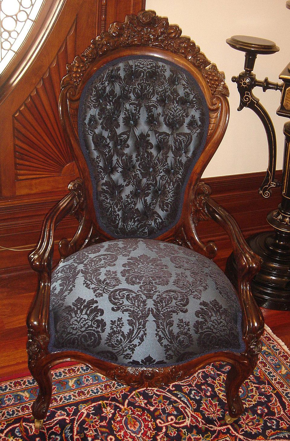 Chair from a Belter Parlor Set