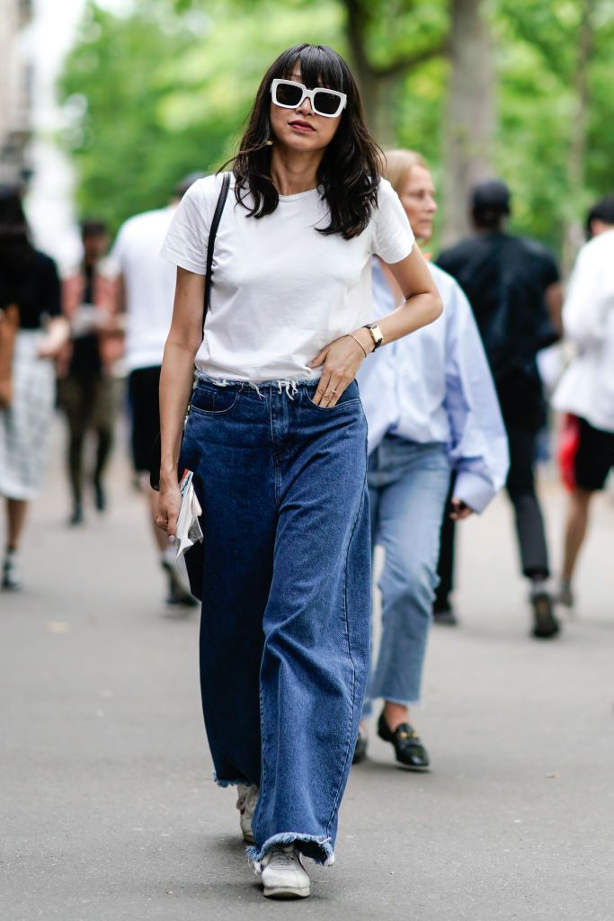 Image result for baggy jeans 2018 street style