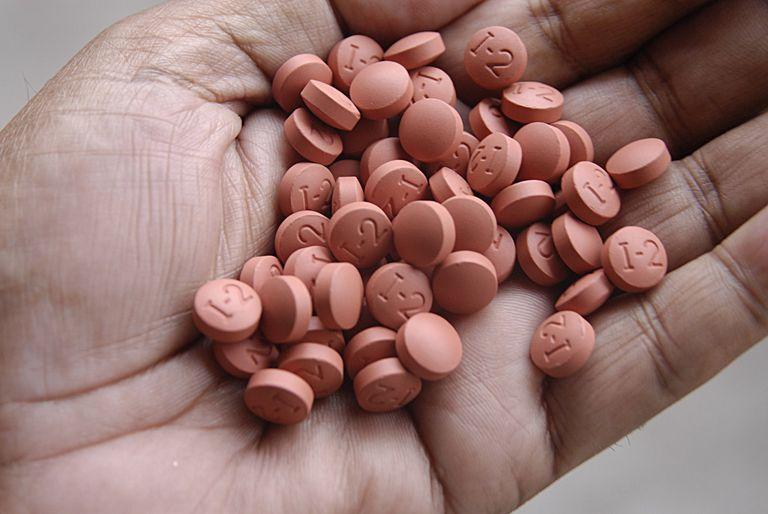 Ibuprofen tablets medicine