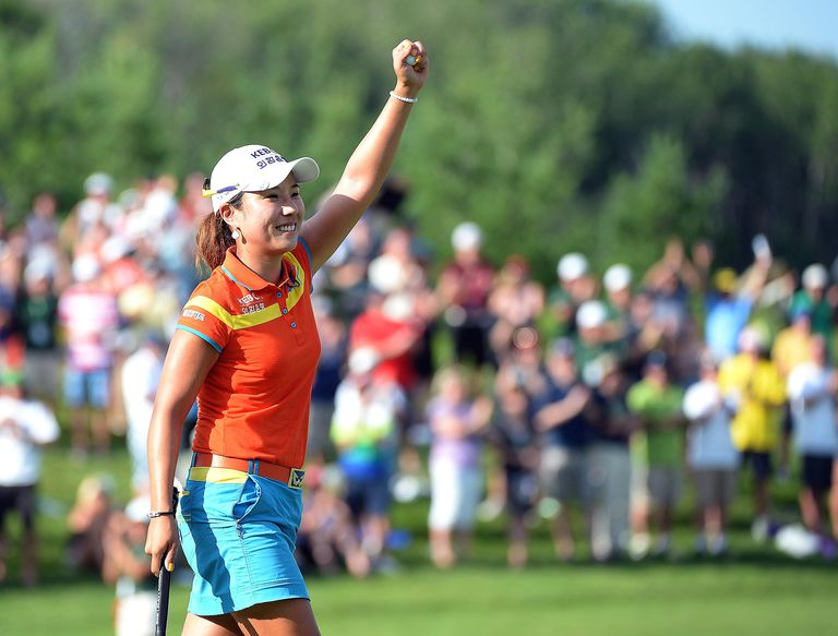 Hee Young Park wins the 2014 Manulife Financial LPGA Classic
