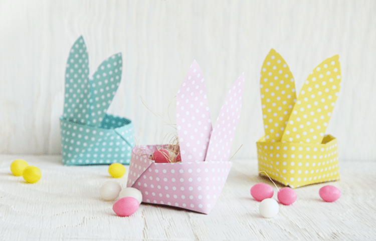 10 adorable and easy easter bunny crafts. Black Bedroom Furniture Sets. Home Design Ideas