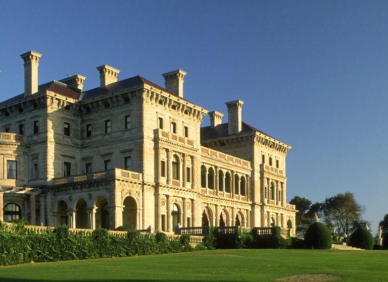 Richard Morris Hunt designed Breakers Mansion, Renaissance Revival, Newport, RI