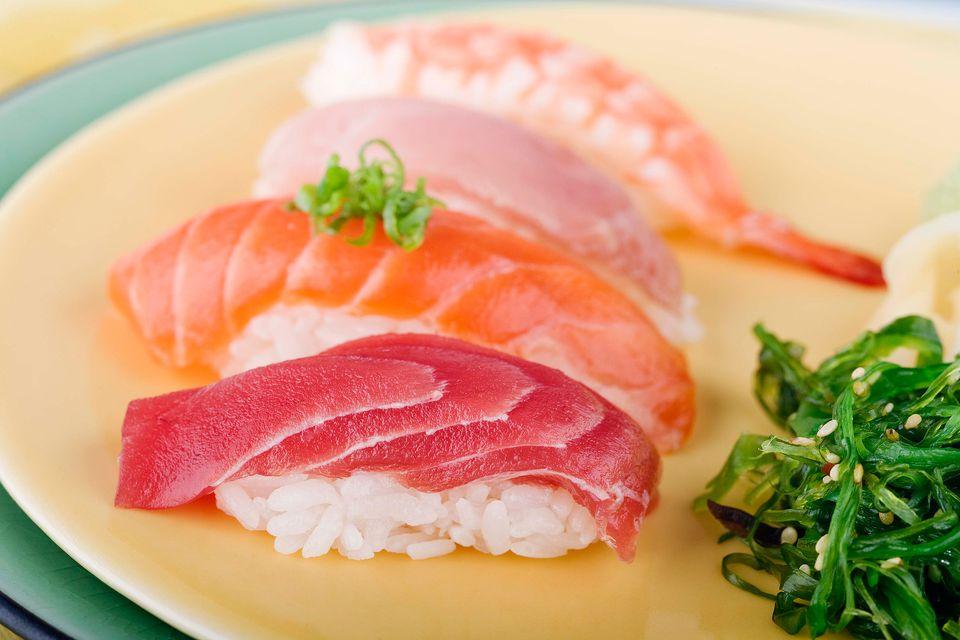 Choosing fish and seafood for sushi or sashimi for Sashimi grade fish