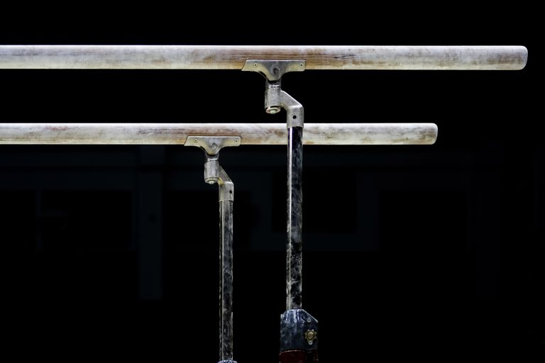 Parallel bars.