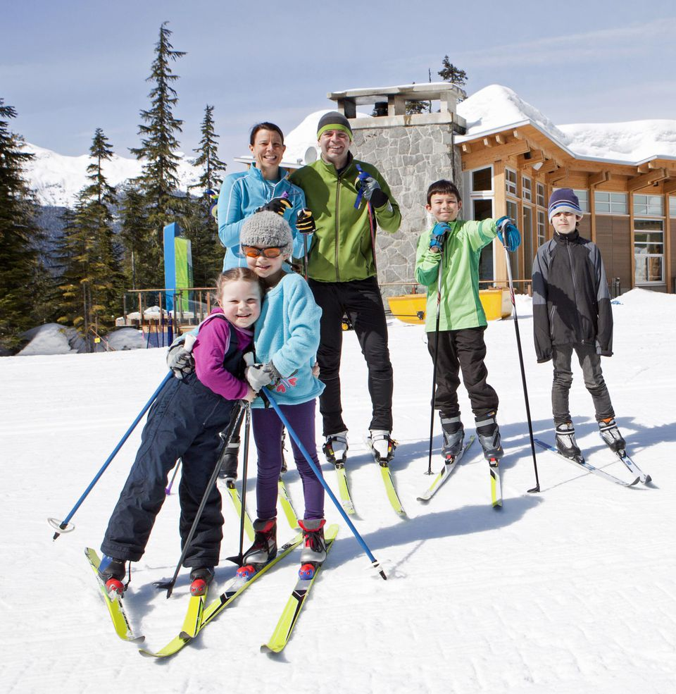 Skiing can be quite affordable late in the season.