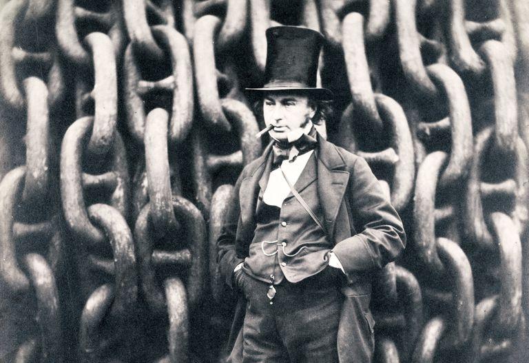 Photographic portrait of isambard Kingdom Brunel