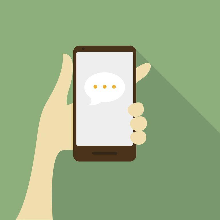 Message Bubbles Smart Phone