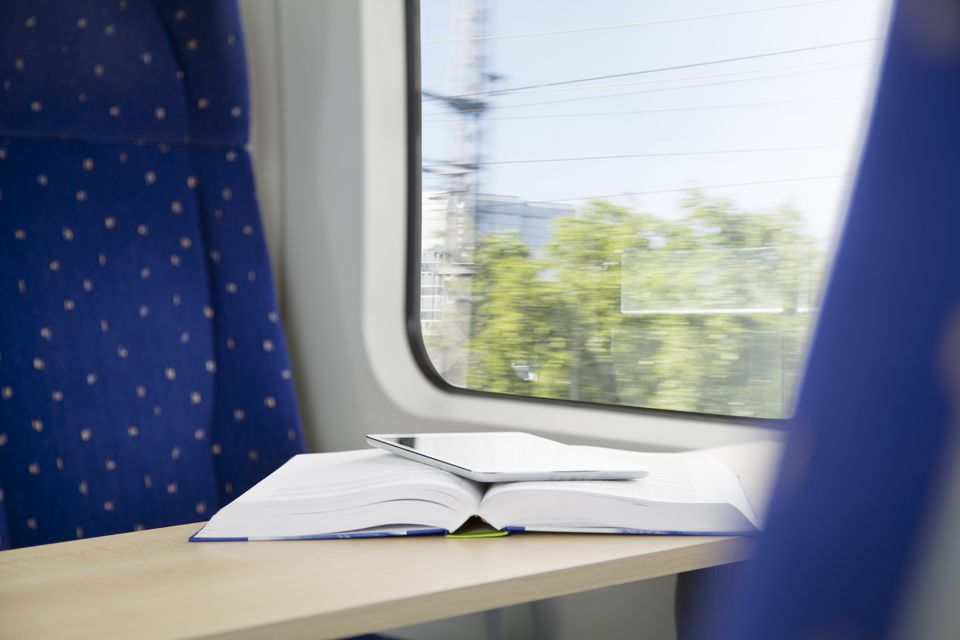 Include your train information in your itinerary.