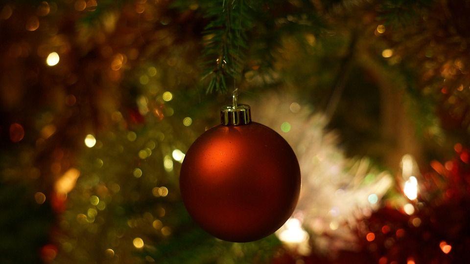 Christmas tree ornament.