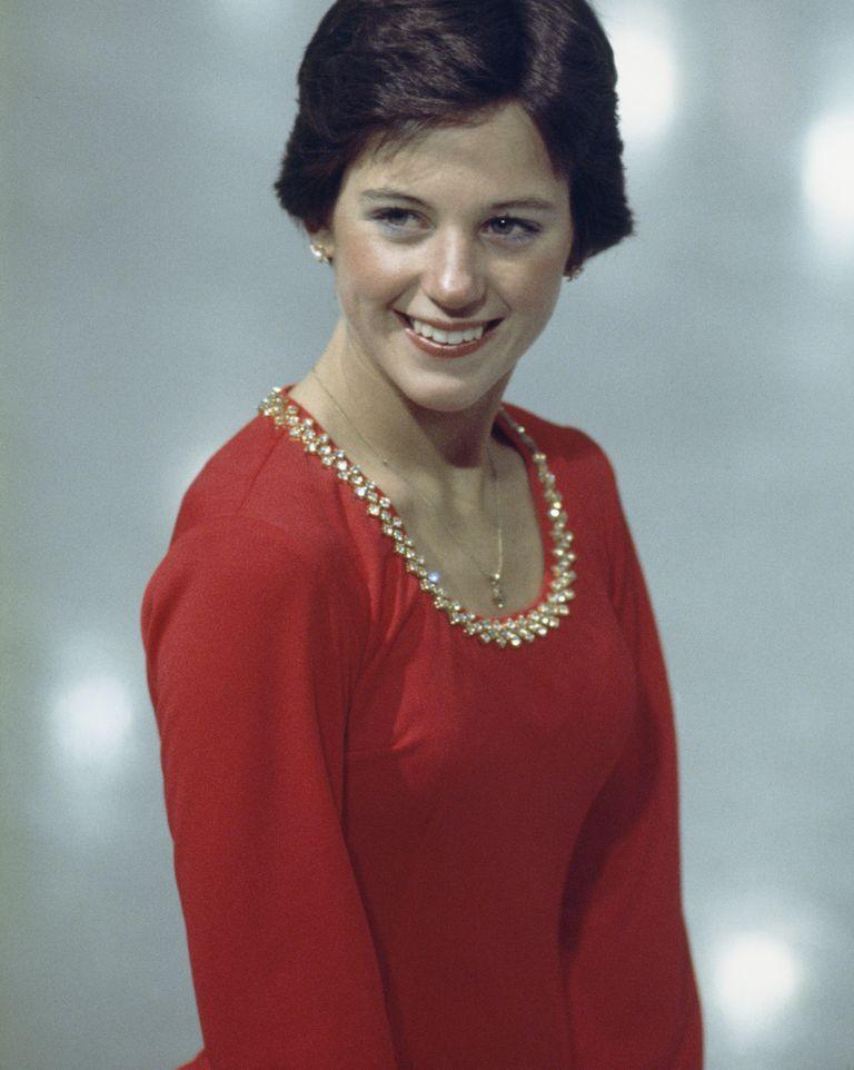 Dorothy Hamill circa 1975