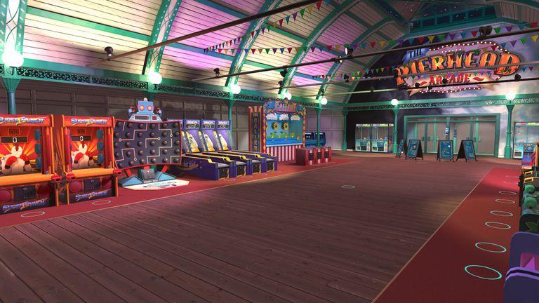 Screenshot from Pierhead Arcade