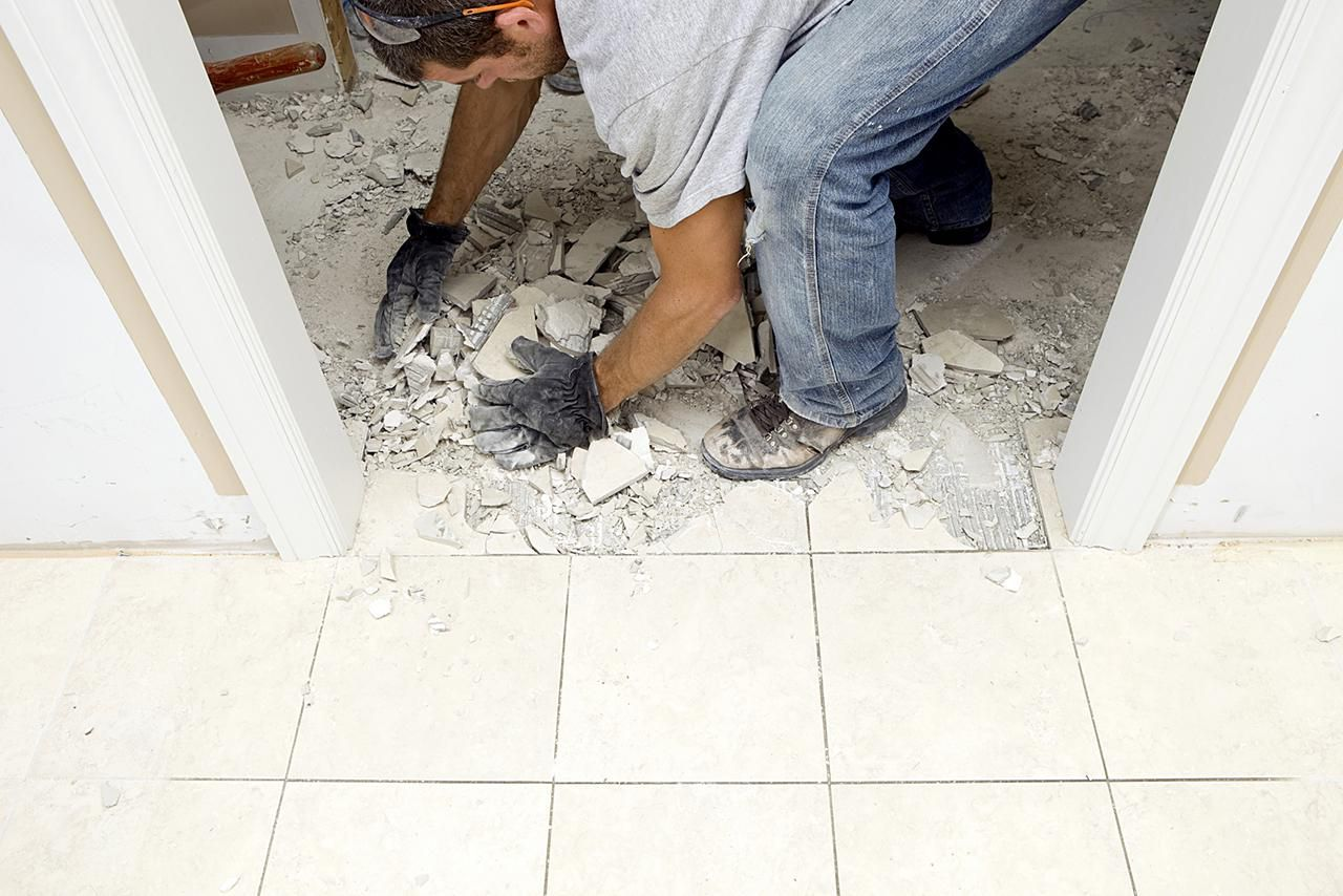 How to install marble floor tiles demolishing marble flooring tiles dailygadgetfo Gallery