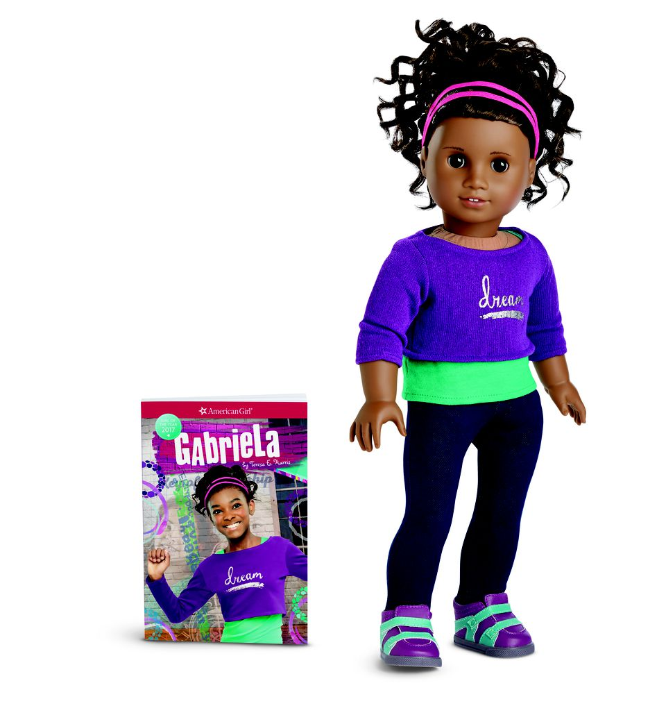 Gabriela McBride New American Girl Doll of the Year