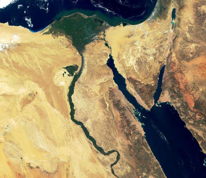 sinai space satellite