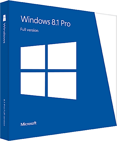 Windows 8.1 Pro Boxshot