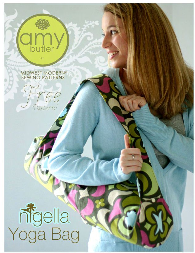 Amy Butler Yoga Bag Pattern