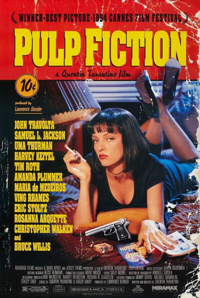 the film director quentin tarantinos no ordinary characters of his pulp fiction Does quentin tarantino really have just two more movies  director quentin tarantino has been saying for years now that he only  reservoir dogs, pulp fiction, jackie brown 2) kill bill .