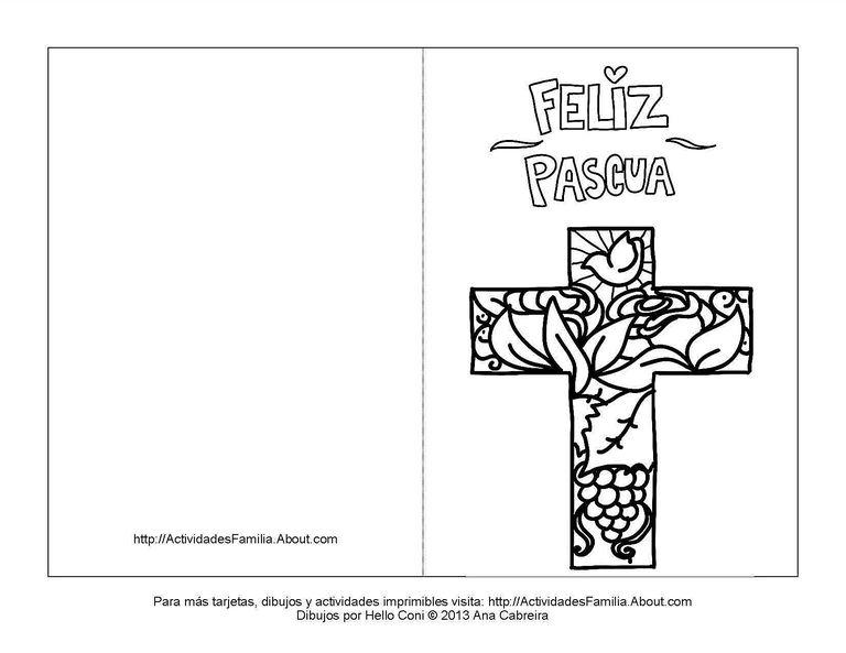 Dibujo De Felices Pascuas Para Colorear Carteles De Feliz Pascua