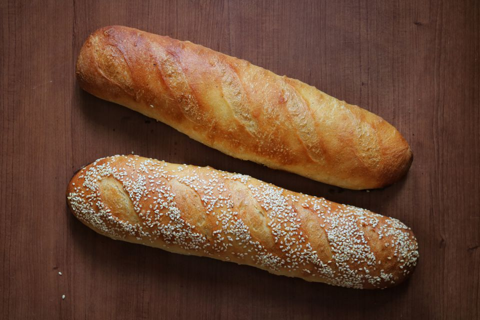 Homemade Rustic French Baguettes