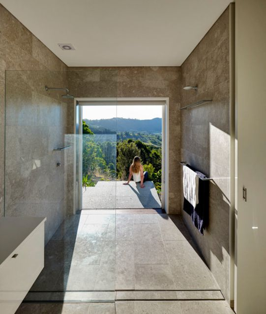 walk in shower with a view shower without door - Walk In Shower Designs Without Doors