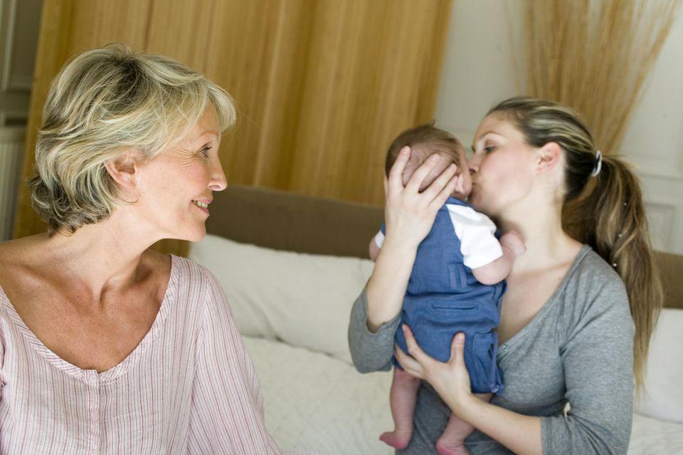 grandparents may notice postpartum depression
