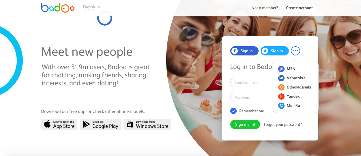 Badoo free chat and dating app