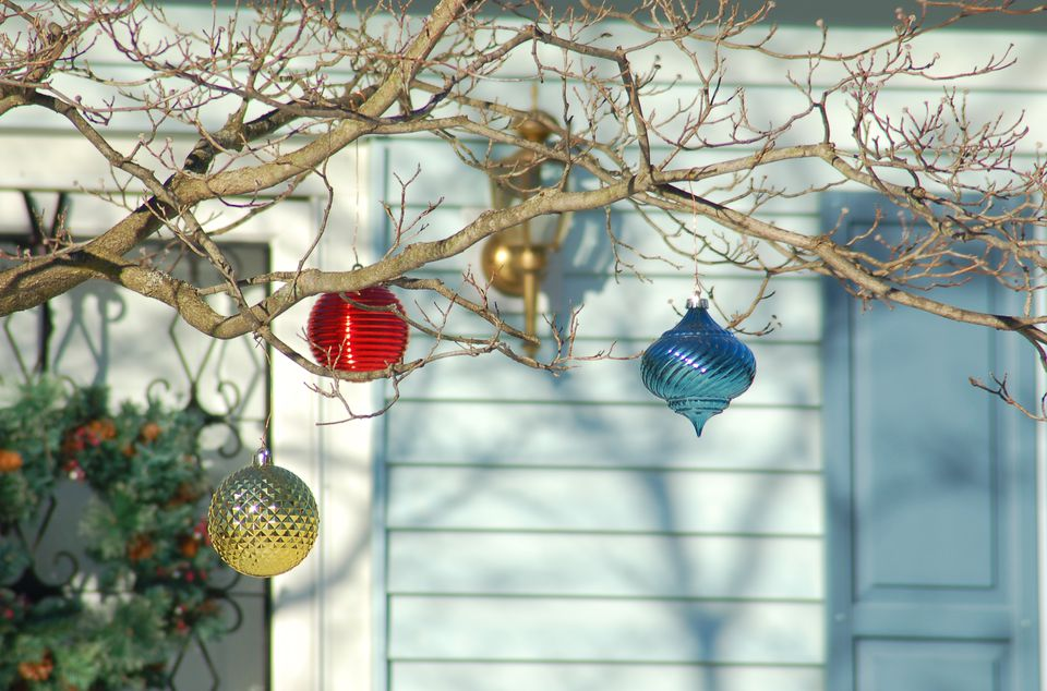 Outdoor christmas decoration ideas in pictures