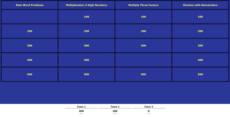 9 free jeopardy templates for the classroom, Powerpoint templates