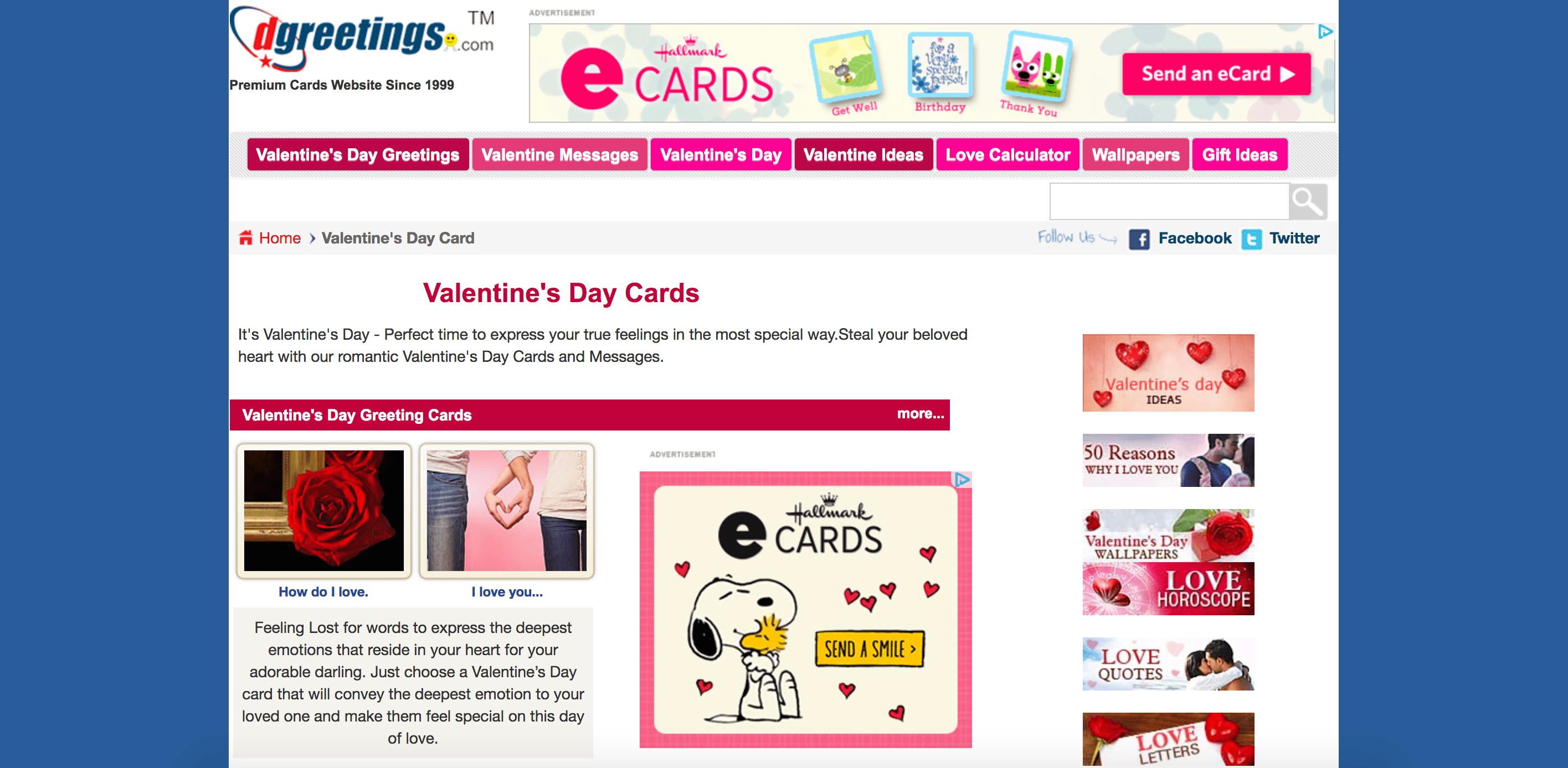 9 great sites with free valentine ecards kristyandbryce Choice Image